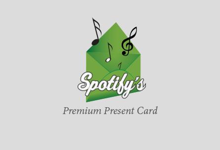 Spotify Premium Present Card